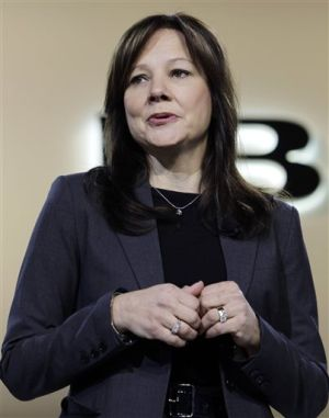 GM names Mary Barra CEO, 1st women to head car co.