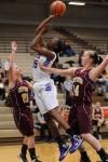Merrillville sophomore forward Victoria Gaines