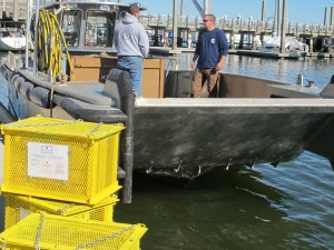 US winery experiments with aging wine in ocean