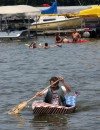 Cedar Lake cardboard boat race crews think out of box