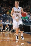 Valpo's Martin still finding the groove at Notre Dame