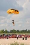 Gary South Shore Air Show Parachute