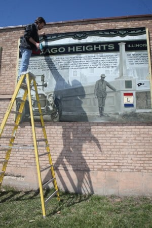 Lincoln Highway mural series in south suburbs complete