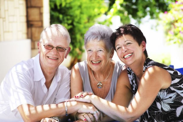 Intergenerational friendships have positive impact