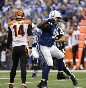 Colts' defense dominates Bengals 27-0