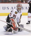 Strong starts position Raanta as likley back to Hawk's Crawford