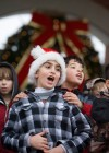 Valpo students welcome yule around town