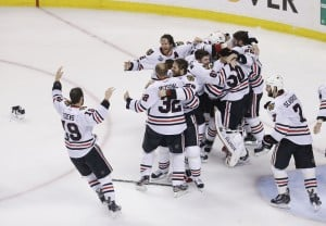Blackhawks win Stanley Cup with two goals in 17 seconds