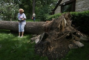 Thousands remain without power after gusty storms