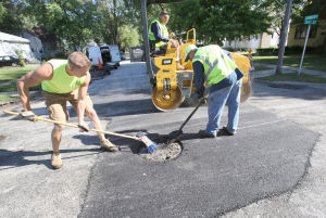 Area roads recovering from difficult winter