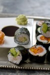 Throw a roll-your-own-sushi New Year's Eve party