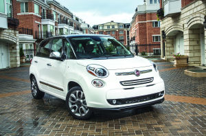 Fiat 500L offers a larger version of tiny road favorite