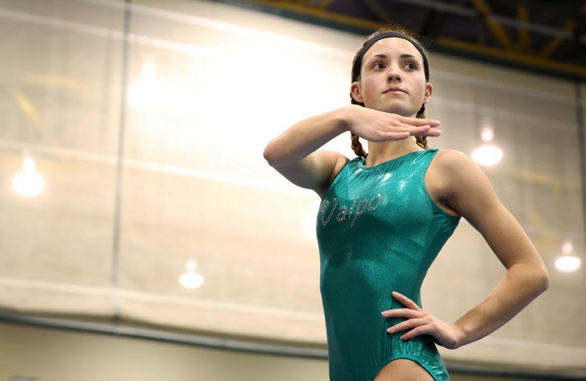 strong work ethic has sophomore gymnast ready for more success valparaiso sophomore rachel moneta