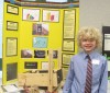 Young scholar proves a winner with science project