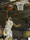 Valpo's LaVonte Dority drives for a layup Tuesday night against Illinois-Chicago in the Horizon League Tournament.