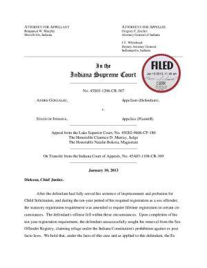 Supreme Court removes Hammond man from sex offender list