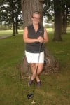 Marian Catholic girls golfer Sylvie Brick