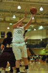 Purdue Calumet's Madison Gervais tries to score in the in the paint on Wednesday night.