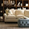 Angie Sofa & Buckley Ottoman