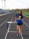 Kat Smailis, Highland senior hurdler
