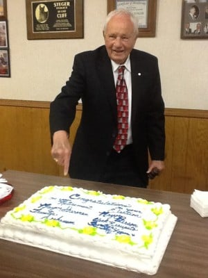 Sherman ends his 40-year reign in Steger