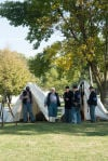 Civil War encampment tours offered