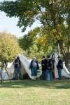 Civil War encampment tours offered