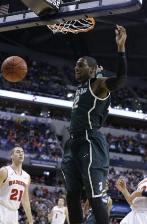 COLLEGE BASKETBALL ROUNDUP: Dawson leads Spartans into Big Ten final