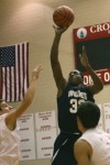 Michigan City's Alajowon Edwards attempts a shot