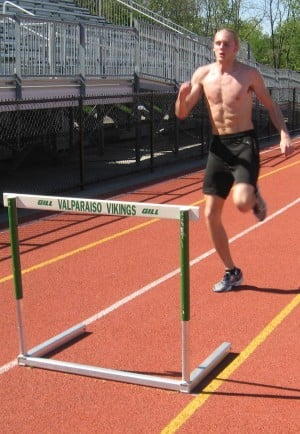 Valparaiso hurdler Marciniak making long strides
