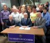 Pence signs two-year state budget