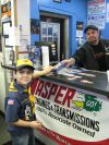 Hegewisch businessman donates Pinewood Derby kits to East Side Scouts