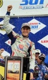 Kahne takes 2nd Sprint Cup race of season after mistake by Hamlin, crew chief at New Hampshire