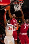 Late free throws cost Hoosiers