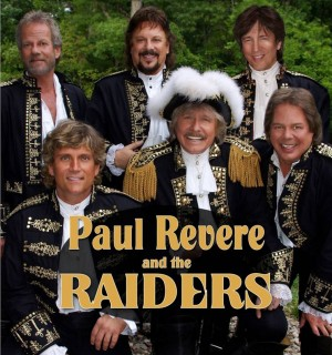 Pop Music and Pop Culture Legends: Paul Revere and the Raiders play Star Plaza Theatre this month