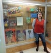 Local artists display artwork at the Crown Point Library