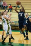 Bishop Noll sophomore guard Brenda Pennington