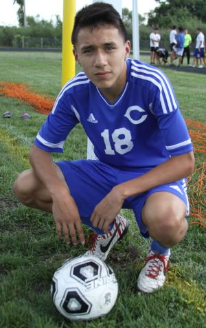 Clark soccer good fit for Garcia
