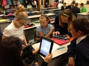 St. Mary's on the cutting edge of technology in and out of the classroom
