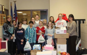Taft hosts fundraiser to collect Supplies 4 GI's