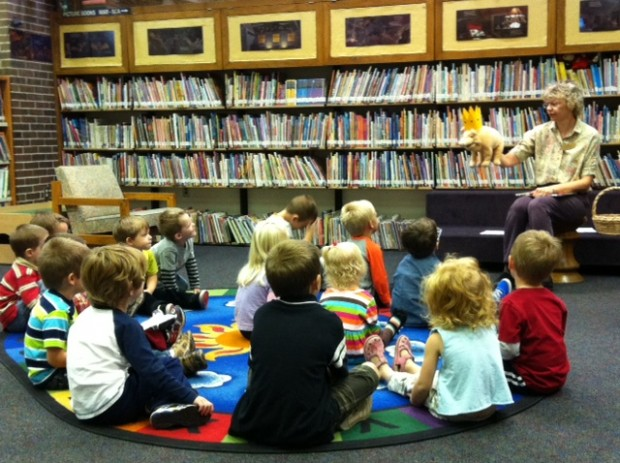 Story Library Story Time at The Library »