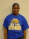 Crete-Monee girls basketball player Angelik Young