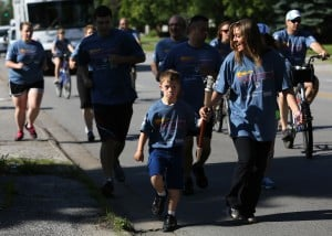 Special Olympics torch run traverses south suburbs