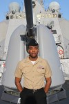 US Navy Culinary Specialist Darwin Rollins sends special message to daughter