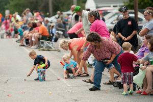 Summer send-off parade