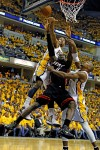 Wade, James lead Heat past Pacers