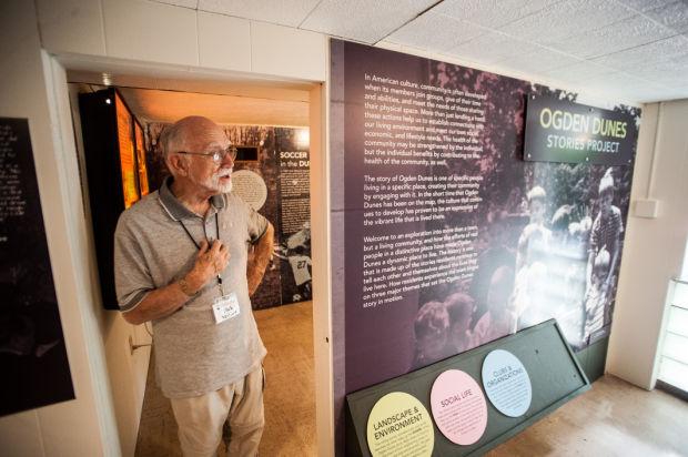 Hour Glass museum hosts Ogden Dunes Stories Project