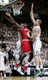 No. 1 Indiana edges No. 4 Michigan State