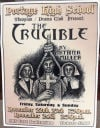 Portage High School Thespian Drama Club rehearse for The Crucible