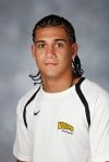 Valparaiso University soccer player Adrian Ortiz